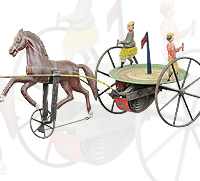 Revolving Horse Drawn