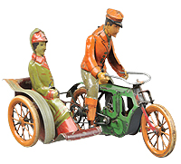 MK Cycle with Sidecar