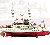 Marklin New York Battleship