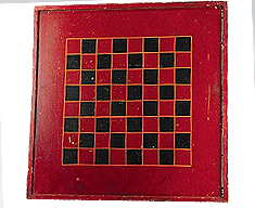 CHECKERS AND PARCHESSI GAME BOARD
