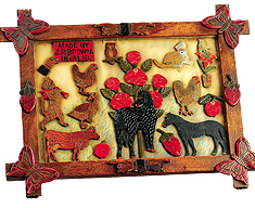 bertoia-advertising-folk-art-carved-frame