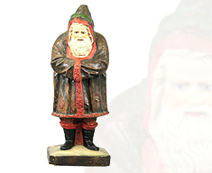Folk Art Santa Belsnickle