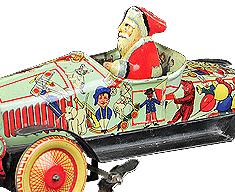 PRE-WAR JAPANESE SANTA CAR