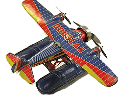 bertoia-tin-toy-douglas-seaplane