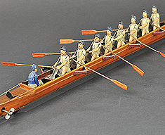 EIGHT MAN SCULL WITH COXSWAIN
