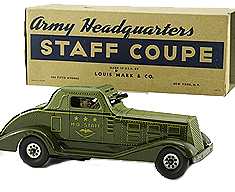 MARX ARMY STAFF COUPE