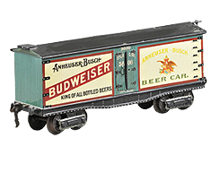 Marklin Budweiser Car