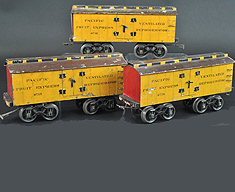 Voltamp Freight Car Set