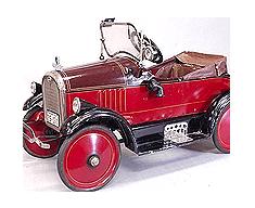 bertoia pedal car toledo pierce
