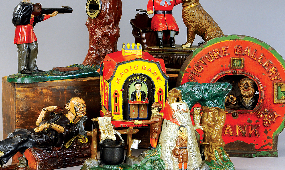 header-bertoia-auctions-antique-toys-2019-may-santa-claus-mechanical-bank-marklin-trains-ives-battleship