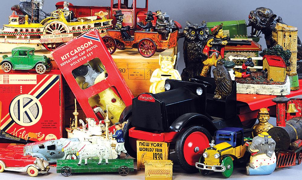 Bertoia Auctions Antique Toys