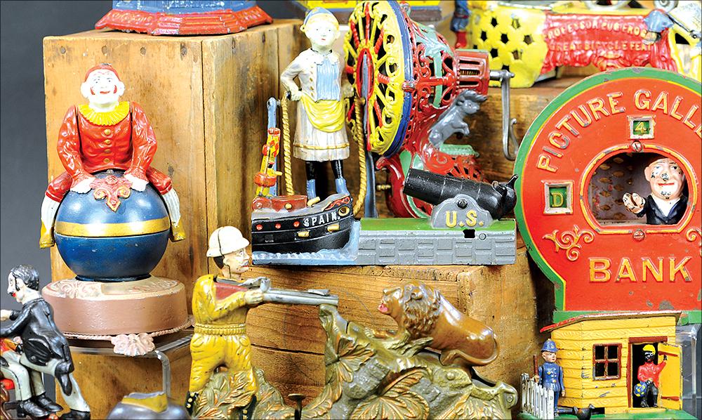header-bertoia-auctions-trolley-antique-toys-march-2021-steiff-santa-marklin-bank-cast-iron-schroeder-