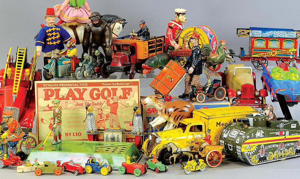 header-bertoia-auctions-trolley-antique-toys-february-2020-steiff-santa-marklin
