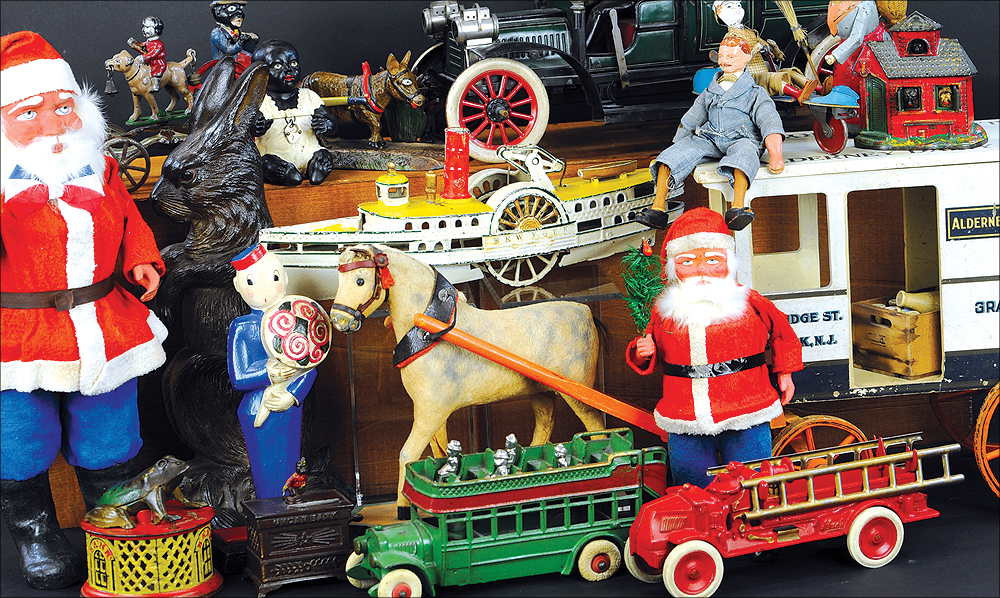 header-bertoia-auctions-basics-trolley-antique-toys-november-2020-steiff-santa-marklin-bank-cast-santa