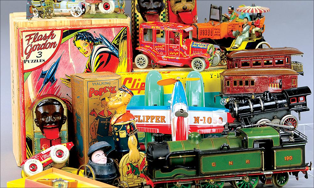 header-bertoia-auctions-basics-trolley-antique-toys-march-2021-steiff-santa-marklin-bank-cast-iron-schroeder